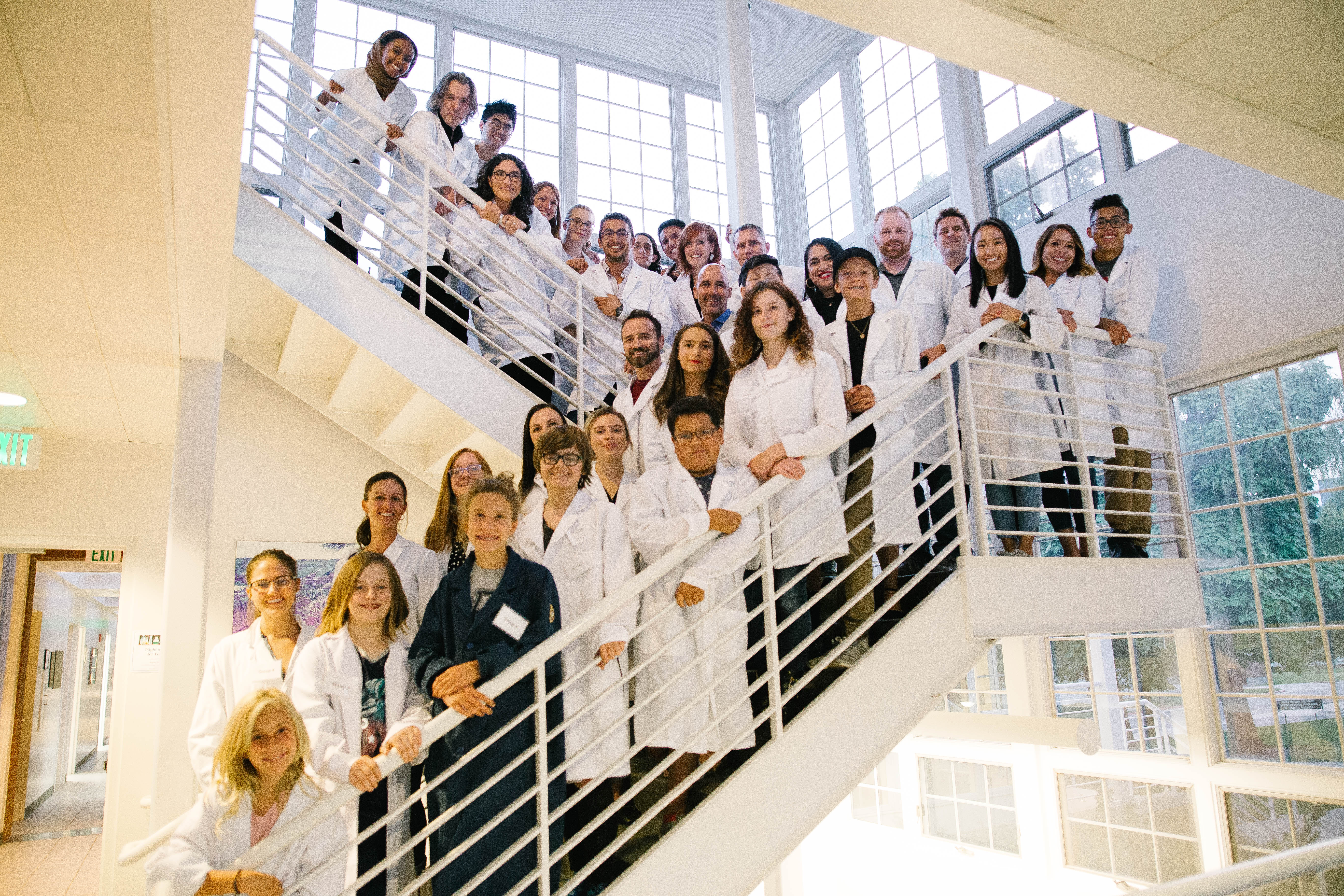 Teenagers visit CVRTI for an exciting 'Night in the Lab'
