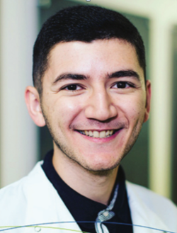 Nijat Aliyev was appointed to the NIH Ruth L. Kirschstein National Research Service Award